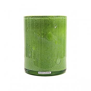 Henry Dean Vase/Windlicht Cylinder, H 17 x Ø 13 cm, Limon