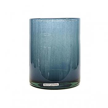 Henry Dean Vase/Windlight Cylinder, h 17 x Ø 13 cm, Denim