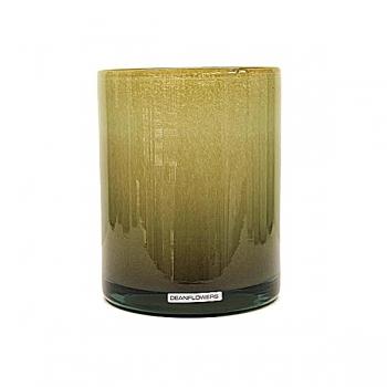 Henry Dean Vase/Windlight Cylinder, h 17 x Ø 13 cm, Taupe
