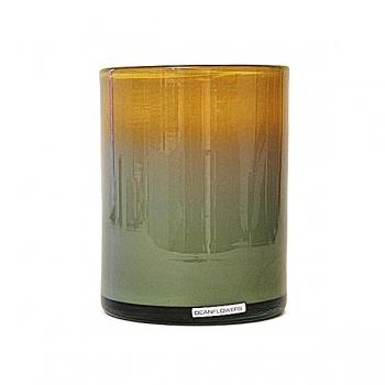 Henry Dean Vase/Windlight Cylinder, h 17 x Ø 13 cm, Dijon