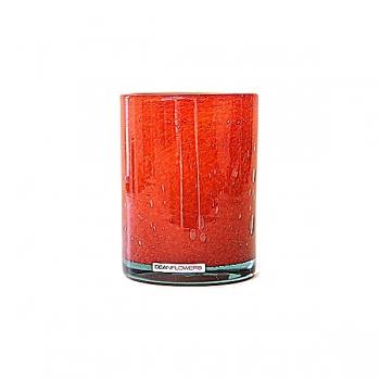 Henry Dean Vase/Windlight Cylinder, h 13 x Ø 10 cm, Fire