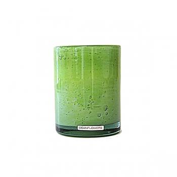 Henry Dean Vase/Windlight Cylinder, h 13 x Ø 10 cm, Limon