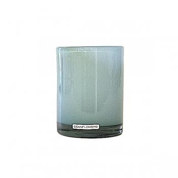 Henry Dean Vase/Windlight Cylinder, h 13 x Ø 10 cm, Glacon
