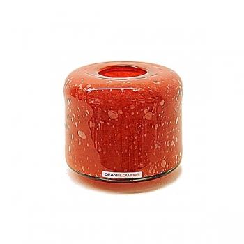Henry Dean Vase/Windlight Fumiko, h 10 x Ø 11 cm, Fire