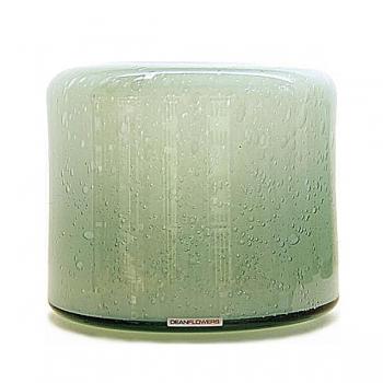 Henry Dean Vase/Windlight Fumiko, h 20 x 21 cm, Glacon
