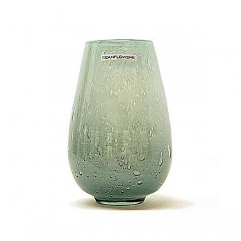 Henry Dean Vase/Windlicht Stromboli, H 17,5  x Ø 7 cm, Glacon