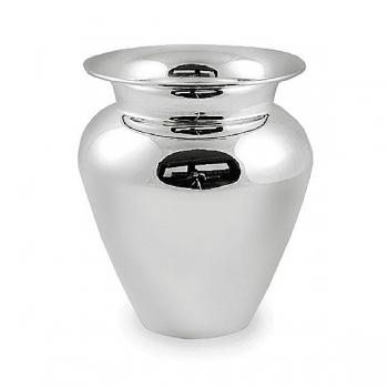 Edzard Vase Antonia, glänzend QualiPlated® versilbert, H 26 x Ø 22 cm