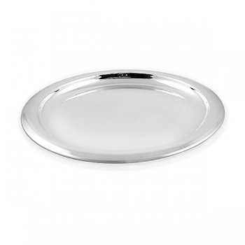 Edzard Tray Sheffield, shiny QualiPlated® with silver, Ø 34 cm