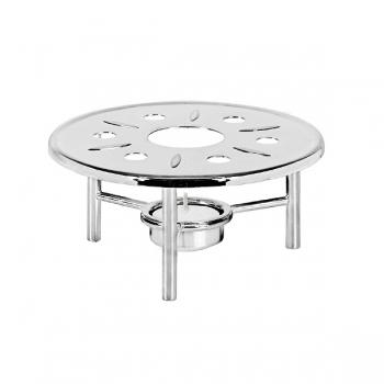 Edzard Tea Pot Warmer Stafford, shiny with silver, h 7 x Ø 15 cm