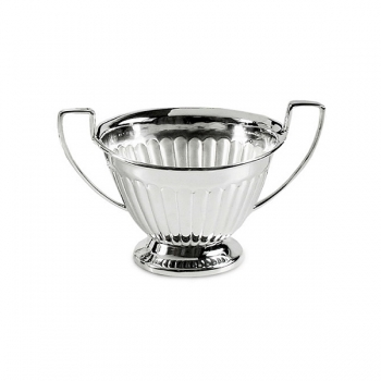 Edzard Sugar Bowl Queen Anne, shiny QualiPlated® with silver, capacity 0,2 l