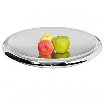 Edzard Bowl Albany, polished stainless steel, double walled, h 10 x Ø 50 cm