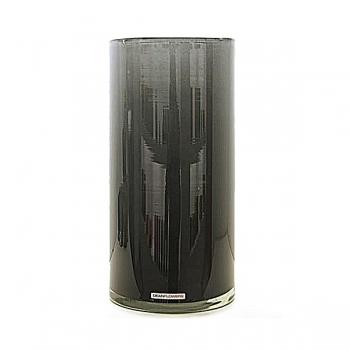 Henry Dean Vase/Windlight Cylinder, h 30 x Ø 15 cm, Grey