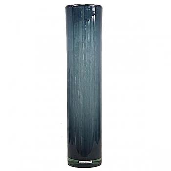 Henry Dean Vase/Windlight Cylinder, h 55 x Ø 13 cm, Denim