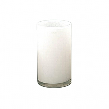 DutZ®-Collection Vase Cylinder, h 27 x Ø 15 cm, white