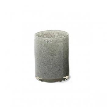 Collection DutZ® vase Cylinder, h 19 x Ø 15 cm, gris moyen