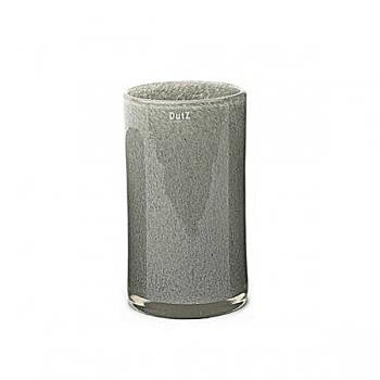 Collection DutZ® vase Cylinder, h 27 x Ø 15 cm, gris moyen