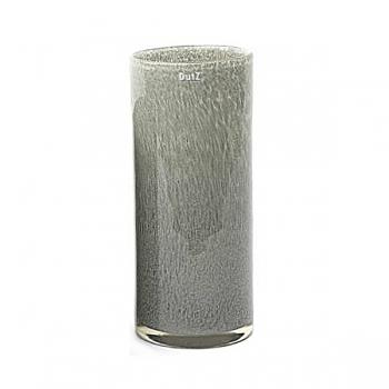 DutZ®-Collection Vase Cylinder, h 35 x Ø 15 cm, medium grey