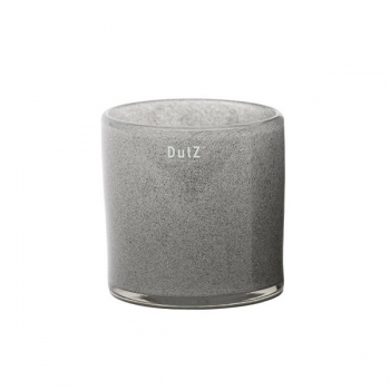 DutZ®-Collection Vase Cylinder, h 14 x Ø 14 cm, medium grey