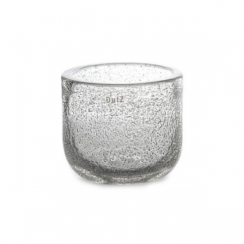 DutZ®-Collection Bowl extra thick, h 16 x Ø 18 cm, clear with bubbles