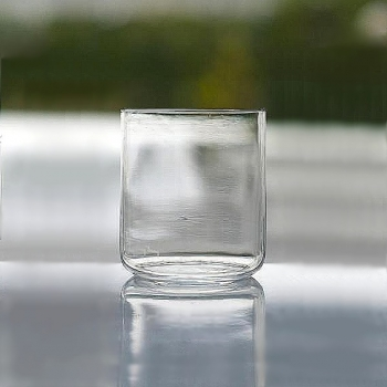 Henry Dean 6 drinking glasses Minimal, small, h 8 x Ø 7 cm