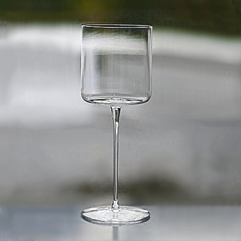 Henry Dean 6 white wine glasses Minimal, h 19 cm