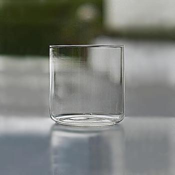 Henry Dean 6 Whiskygläser Minimal, hoch, H 9,5 x Ø 9 cm