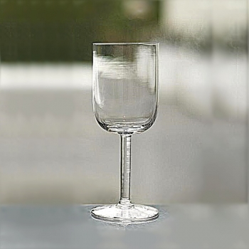Henry Dean 6 white wine glasses Joseph , h 17.5 cm