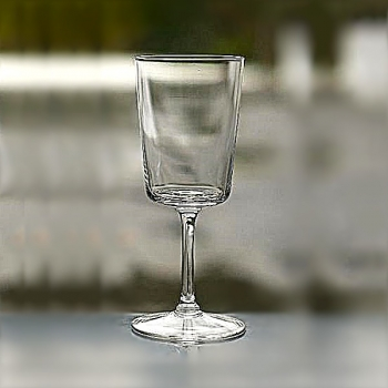 Henry Dean 6 white wine glasses Yoshi Young , h 16.5 cm
