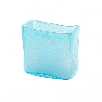 DutZ®-Collection Vase rectangular, l 13 x h 13 x d 7 cm, aqua