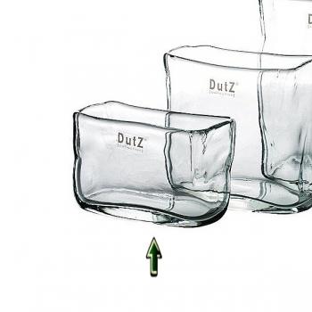 DutZ®-Collection Vase rectangular, l 13 x h 8 x d 7 cm, clear