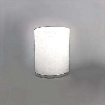 Collection DutZ® vase Cylinder, h 30 x Ø 22 cm, blanc