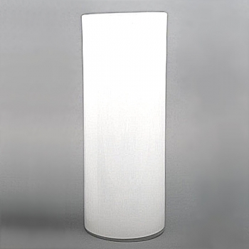 Collection DutZ® vase Cylinder, h 60 x Ø 22 cm, blanc