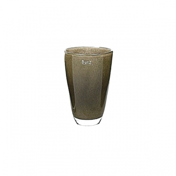 DutZ®-Collection Blumenvase, H 21 x Ø 13 cm, Braun