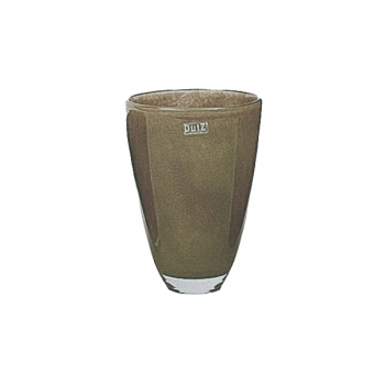 DutZ®-Collection Blumenvase, H 26 x Ø 16 cm, Braun