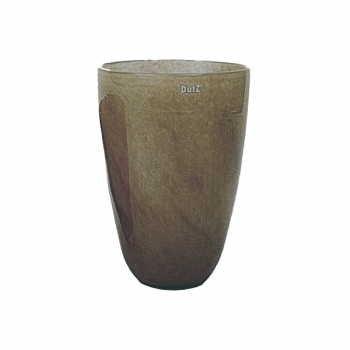 Collection DutZ® Vase, h 32 cm x Ø 21 cm, marron