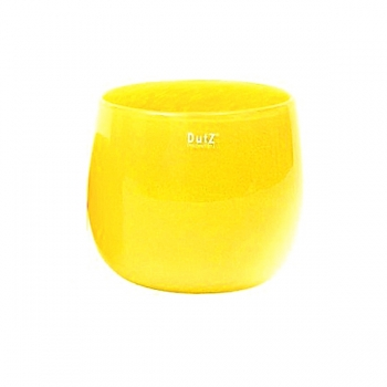 DutZ®-Collection Vase Pot, h 18 x Ø 20 cm, yellow