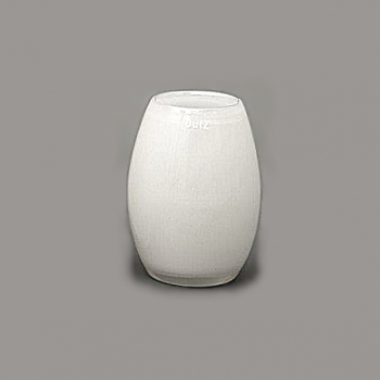 DutZ®-Collection Vase Barrel, h 20 cm x Ø 15 cm, white