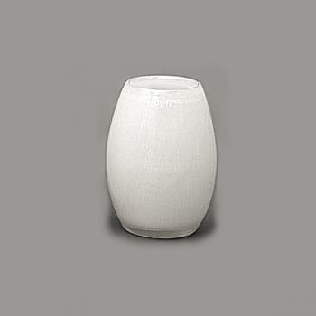 DutZ®-Collection Vase Barrique, h 20 cm x Ø 15 cm, blanc