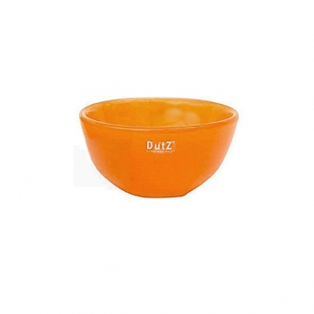 DutZ®-Collection Glass Bowl, h 7 x Ø 12 cm, red orange