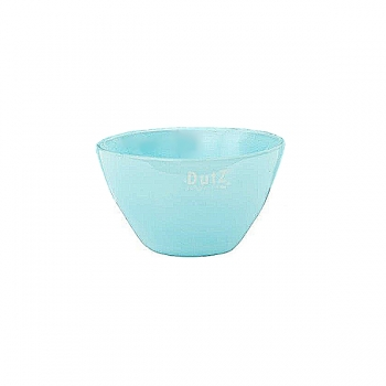 Collection DutZ® Bol en Verre, h 7 x Ø 12 cm, aqua