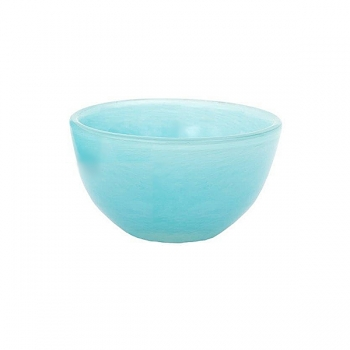Collection DutZ® Bol en Verre, h 9 x Ø 17 cm, aqua