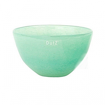 Collection DutZ® Bol en Verre, h 11 x Ø 20 cm, jade