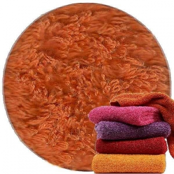 Abyss & Habidecor Super Pile Terry Cloth Bath Towel, 70 x 140 cm, 100% Egyptian Giza 70 Cotton, 700g/m², 605 Mandarin