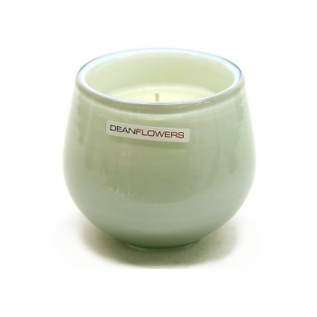 Henry Dean Candle/Wind Light Clovis, 1 wick, h 9 x Ø 9.5 cm, Lily White