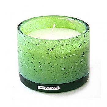 Henry Dean Candle/Wind Light Cylinder, 3 wicks, h 10 x Ø 13.5 cm, Limon