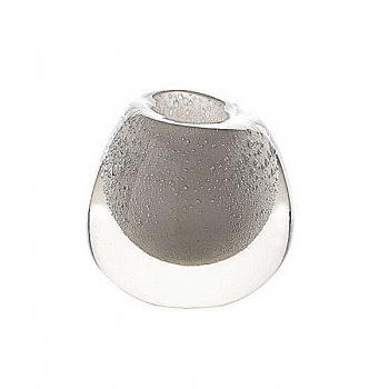 DutZ®-Collection Vase Bubble, h 18 x Ø 18 cm, white with bubbles