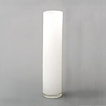 Collection DutZ® vase Cylinder, h 40 x Ø 9 cm, blanc