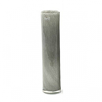 Collection DutZ® vase Cylinder, h 40 x Ø 9 cm, gris moyen