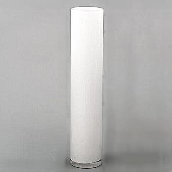 Collection DutZ ®  vase Cylinder, h 50 x Ø 10 cm, blanc