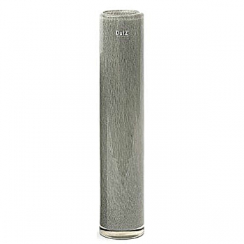 Collection DutZ® vase Cylinder, h 50 x Ø 10 cm, gris moyen
